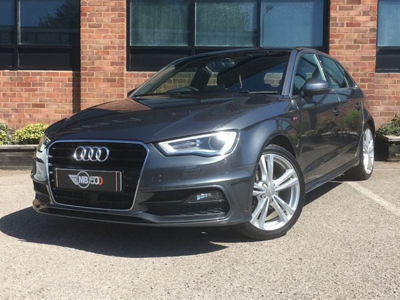 used Audi A3 TDI S LINE NAV in leicester