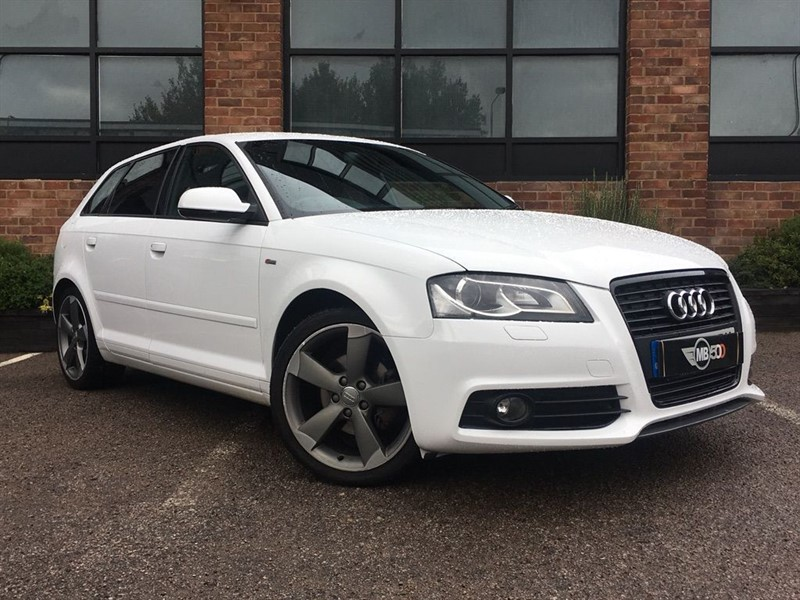 used Audi A3 SPORTBACK TDI S LINE SPECIAL EDITION in leicester
