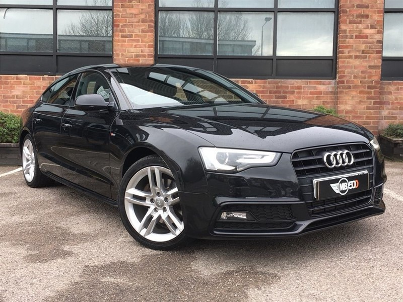 used Audi A5 SPORTBACK TDI S LINE in leicester
