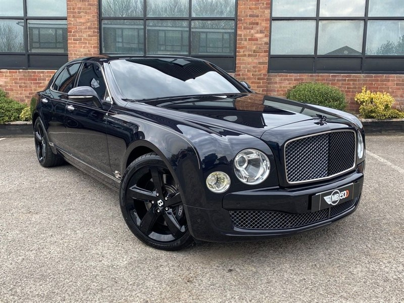 used Bentley Mulsanne V8 SPEED in leicester
