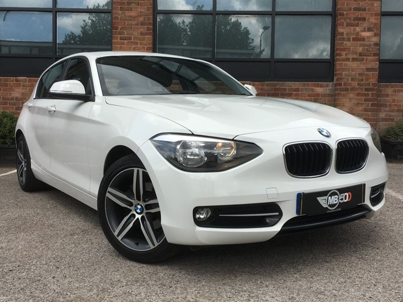 used BMW 116i SPORT in leicester