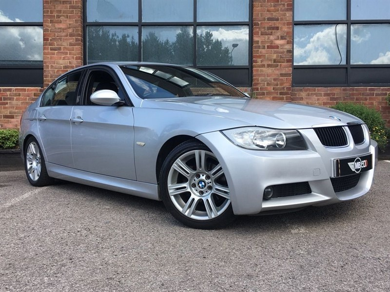used BMW 318d M SPORT in leicester
