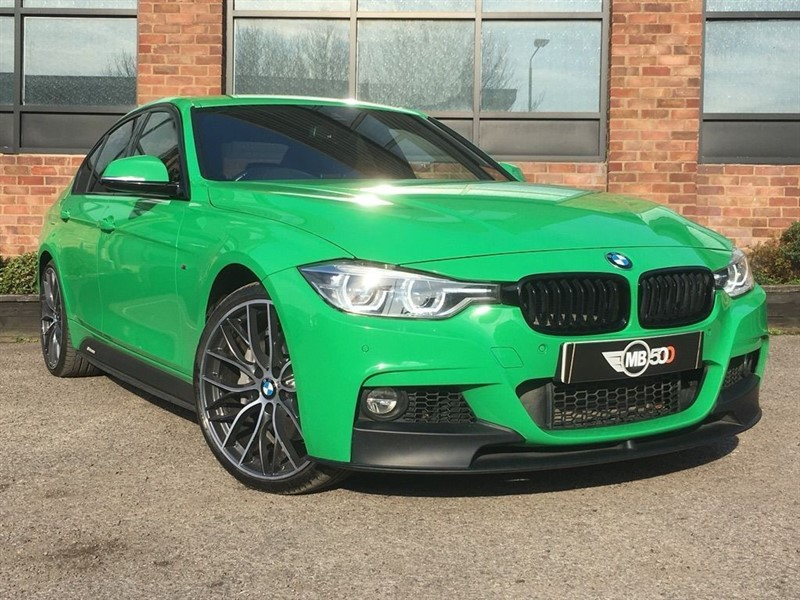 used BMW 335d XDRIVE M SPORT in leicester