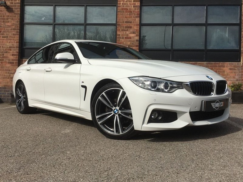 used BMW 420d M SPORT GRAN COUPE in leicester