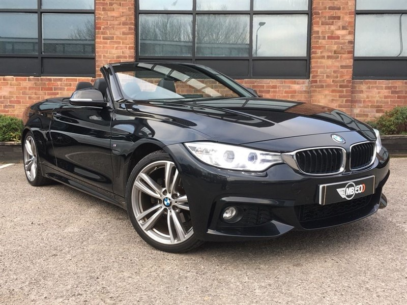 used BMW 420d M SPORT in leicester