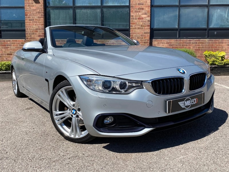 used BMW 420d SPORT in leicester