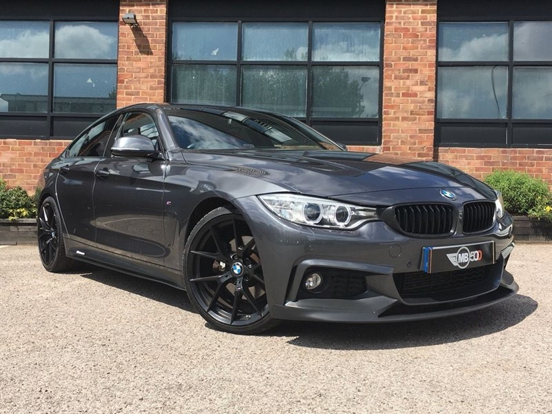 used BMW 430d M SPORT GRAN COUPE in leicester