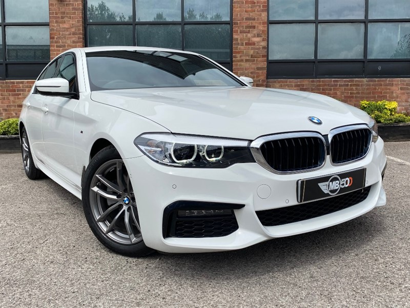 used BMW 520d M SPORT in leicester