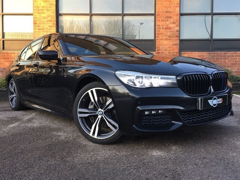 used BMW 730d M SPORT in leicester