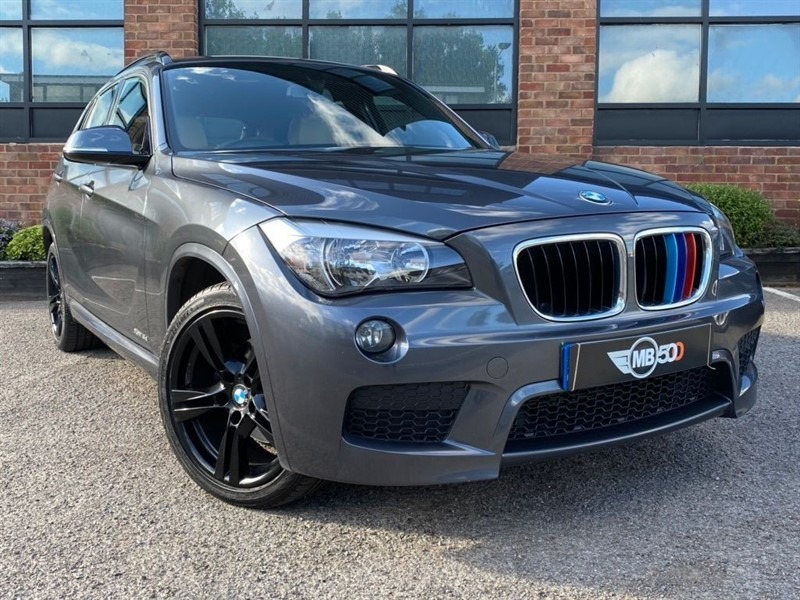 used BMW X1 XDRIVE18D M SPORT in leicester