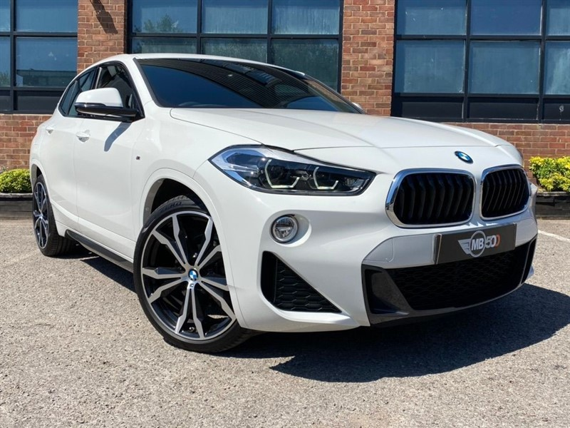 used BMW X2 SDRIVE18D M SPORT in leicester