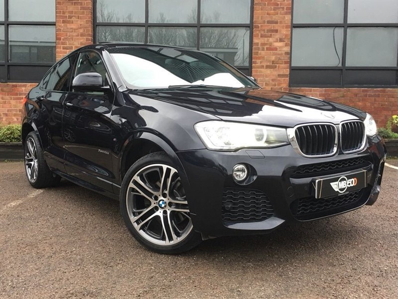 used BMW X4  XDRIVE20D M SPORT in leicester