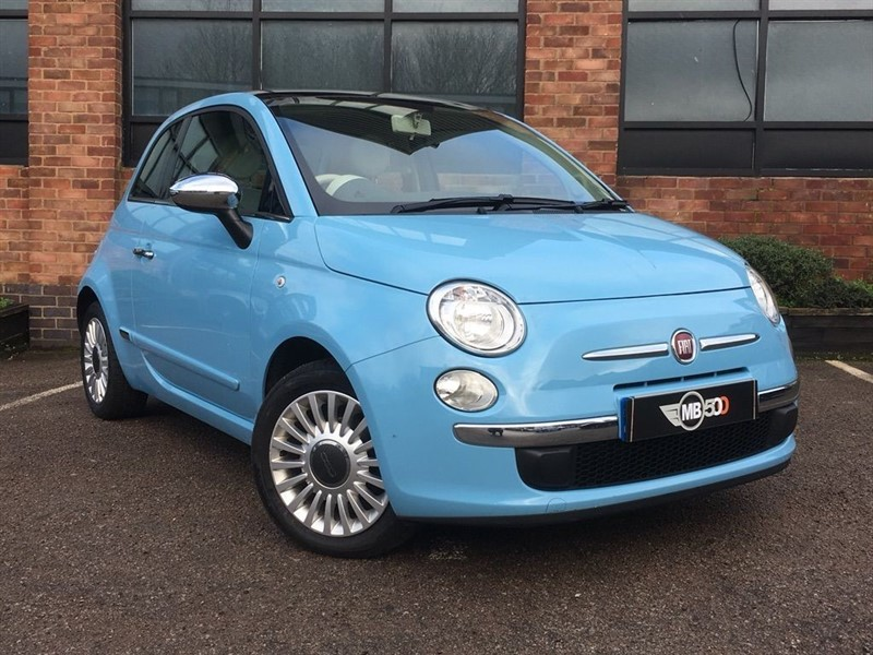 used Fiat 500 LOUNGE in leicester