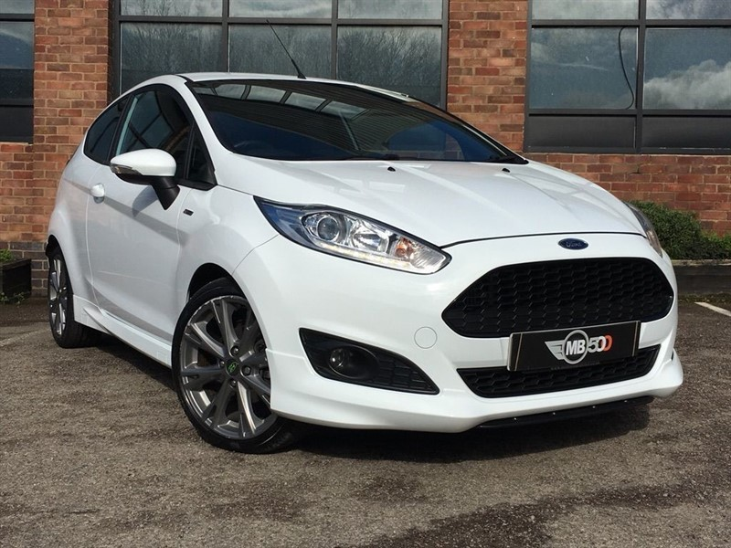 used Ford Fiesta ST-LINE in leicester