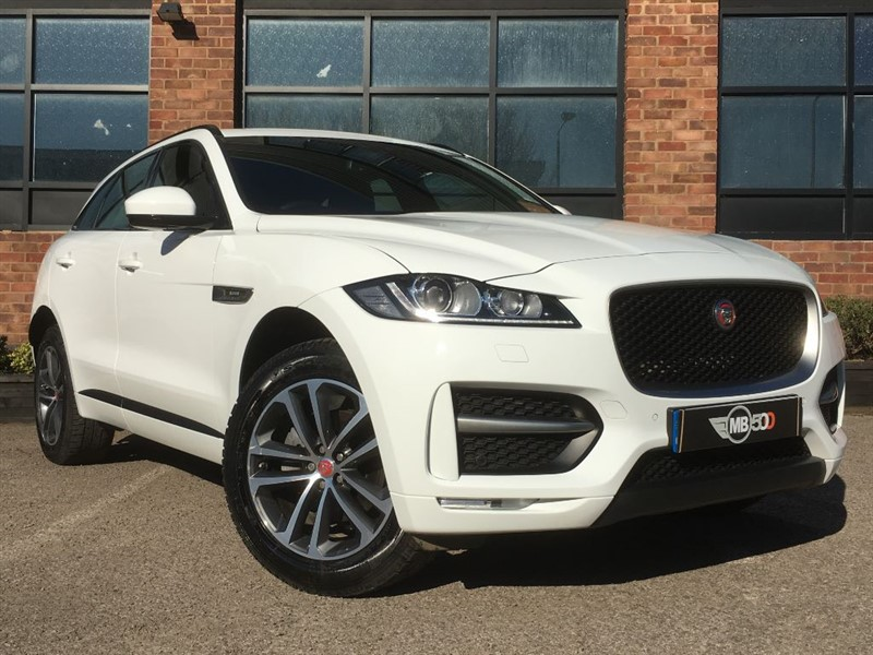 used Jaguar F-Pace R-SPORT AWD in leicester
