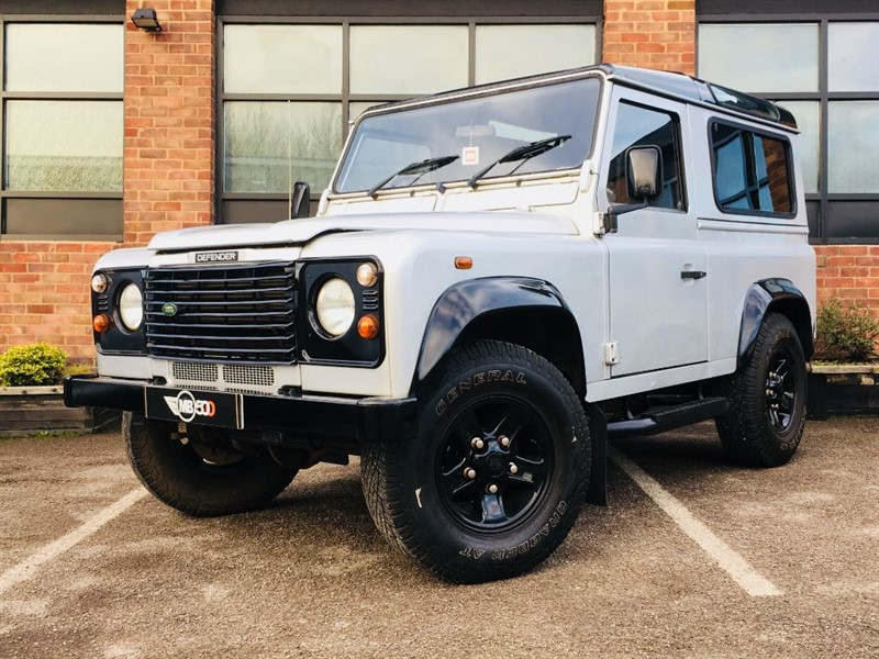 used Land Rover Defender 90 TD5 STATION WAGON in leicester
