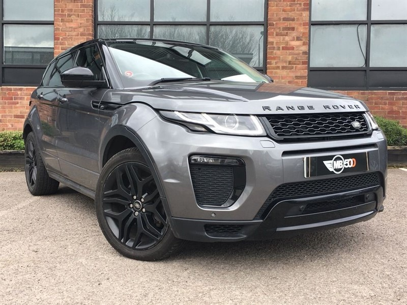 used Land Rover Range Rover Evoque TD4 HSE DYNAMIC in leicester