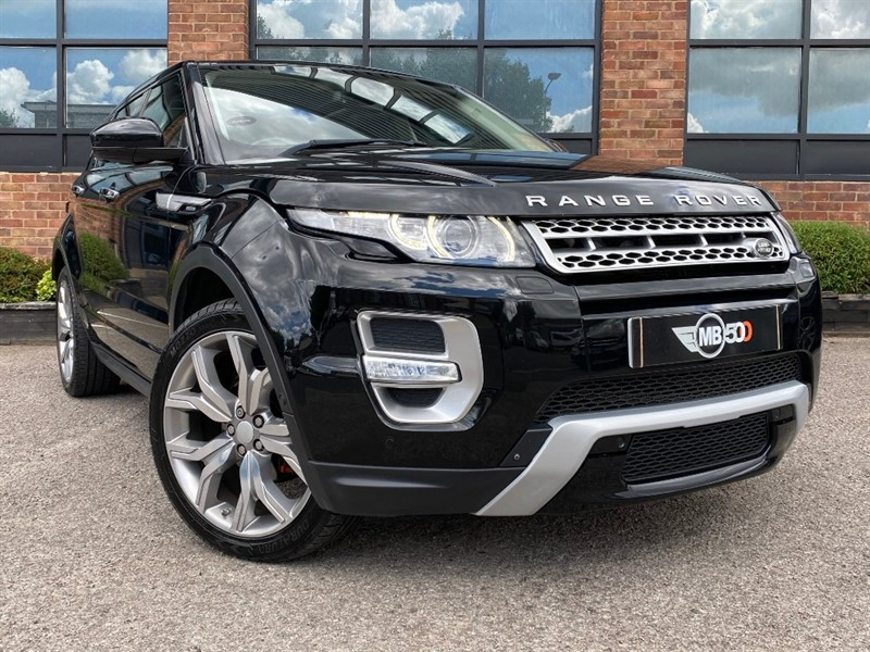 used Land Rover Range Rover Evoque SD4 AUTOBIOGRAPHY in leicester