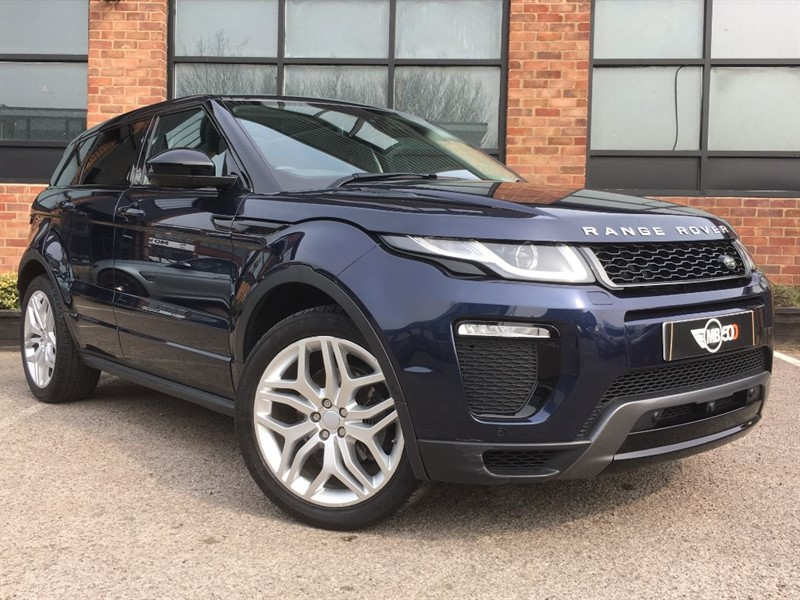 used Land Rover Range Rover Evoque TD4 HSE DYNAMIC LUX in leicester