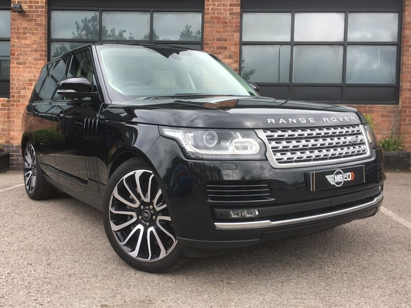 used Land Rover Range Rover SDV8 AUTOBIOGRAPHY in leicester