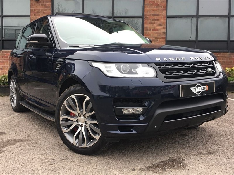 used Land Rover Range Rover Sport SDV6 AUTOBIOGRAPHY DYNAMIC in leicester