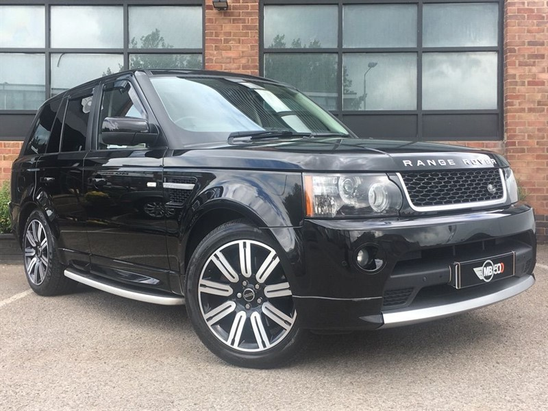 used Land Rover Range Rover Sport SDV6 AUTOBIOGRAPHY SPORT in leicester