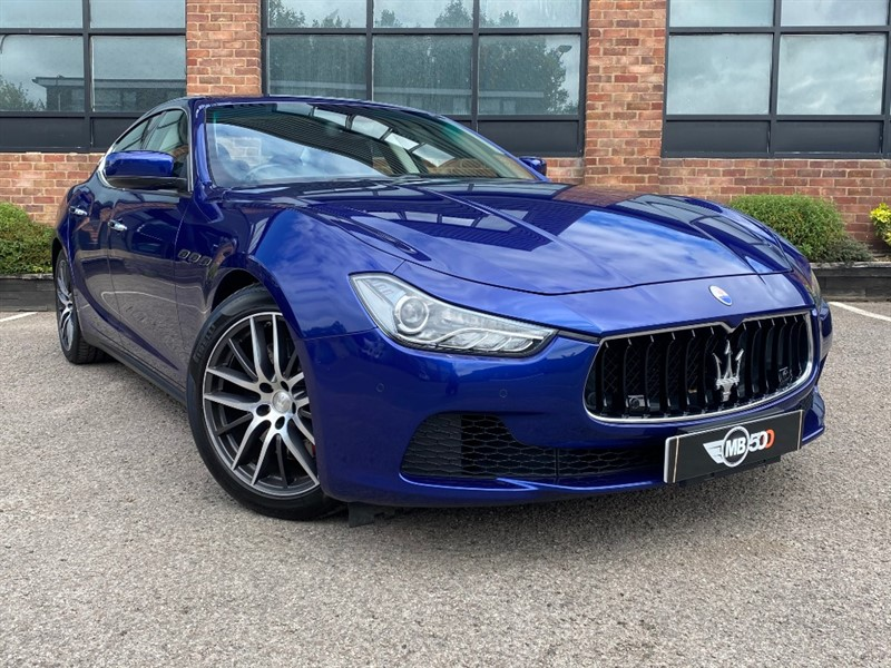 used Maserati Ghibli DV6 in leicester