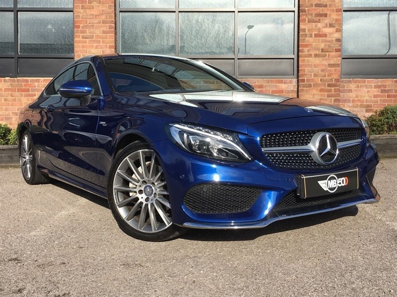 used Mercedes 200 C  AMG LINE in leicester