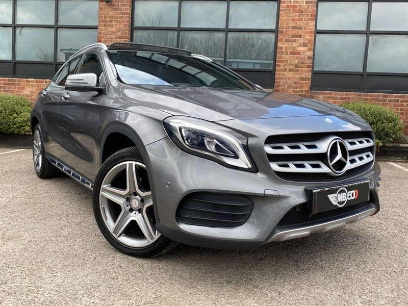 used Mercedes 200 GLA  D 4MATIC AMG LINE PREMIUM PLUS in leicester
