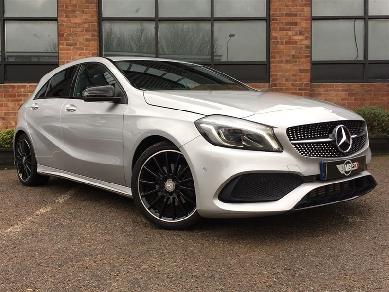 used Mercedes 200 A  D AMG LINE PREMIUM in leicester