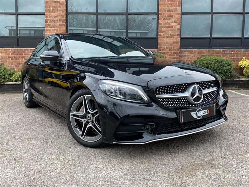 used Mercedes 200 C  AMG LINE PREMIUM in leicester