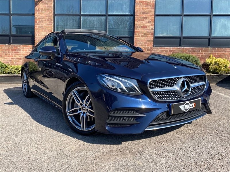 used Mercedes 220 E  D AMG LINE PREMIUM in leicester