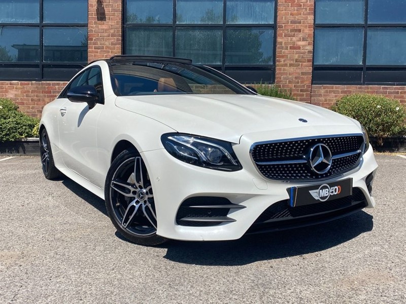 used Mercedes 220 E  D AMG LINE PREMIUM PLUS in leicester