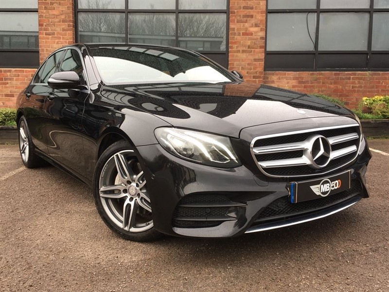 used Mercedes 220 E  D AMG LINE in leicester