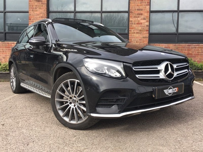 used Mercedes 250 GLC  D 4MATIC AMG LINE PREMIUM in leicester