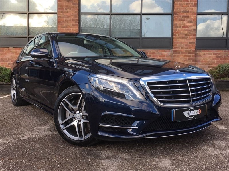 used Mercedes 350 S  D AMG LINE EXECUTIVE in leicester