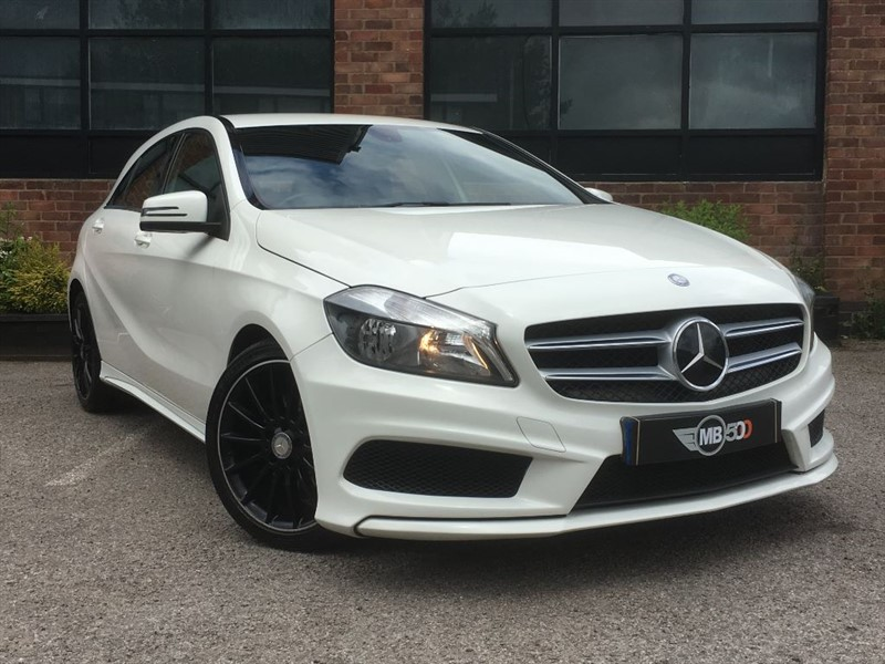 used Mercedes A180 CDI BLUEEFFICIENCY AMG SPORT in leicester