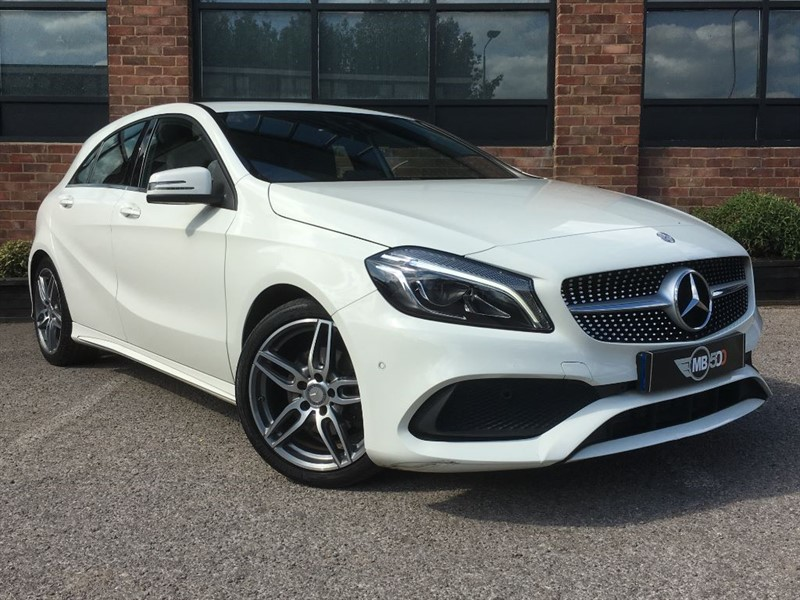 used Mercedes A180 A-CLASS A 180 D AMG LINE PREMIUM in leicester
