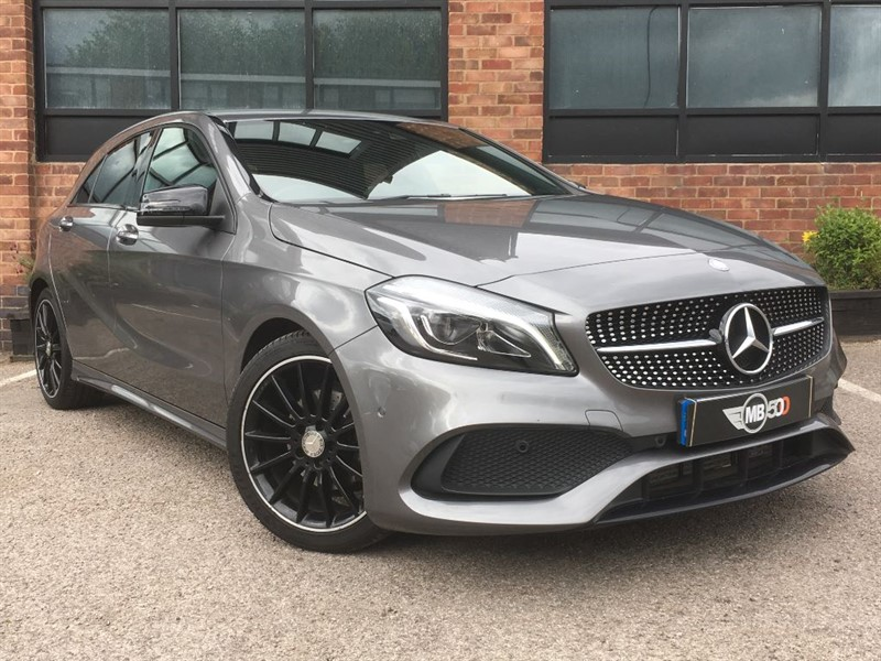 used Mercedes A200 A-CLASS A 200 D AMG LINE PREMIUM in leicester