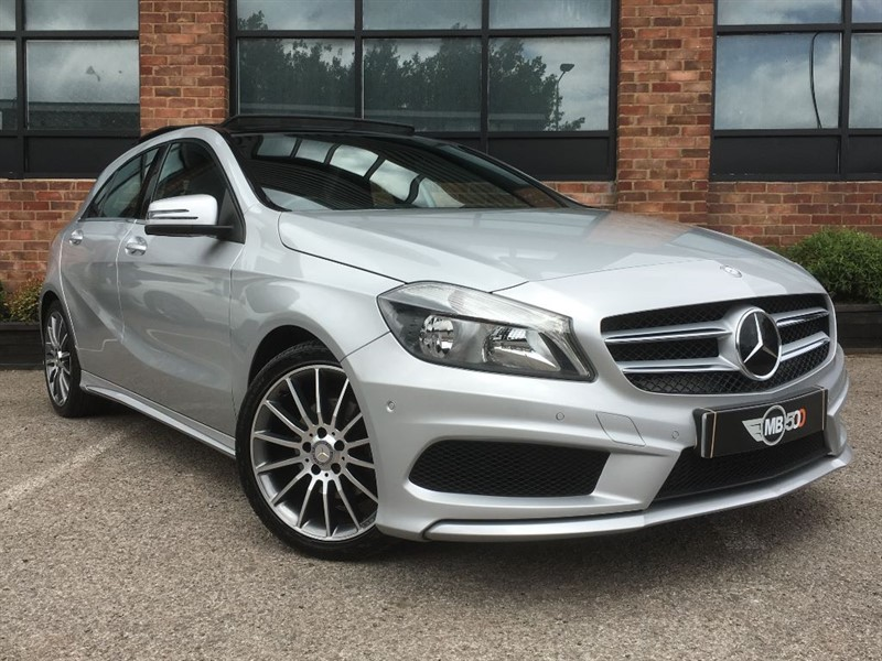 used Mercedes A200 CDI BLUEEFFICIENCY AMG SPORT in leicester
