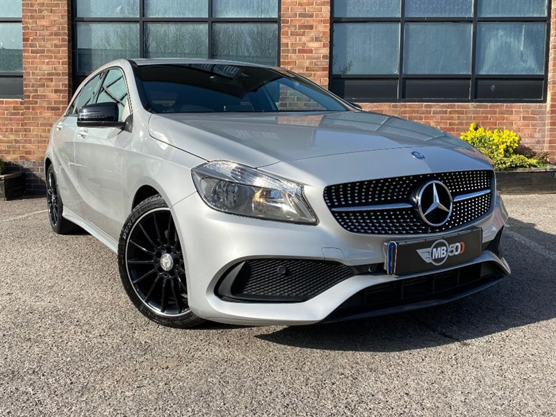 used Mercedes A180d A 180 D AMG LINE in leicester