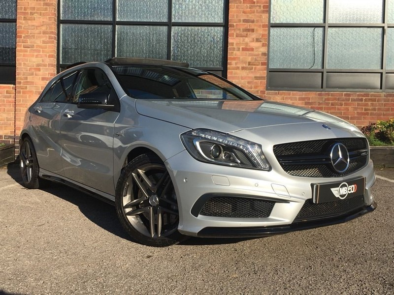 used Mercedes A45 AMG 4MATIC in leicester