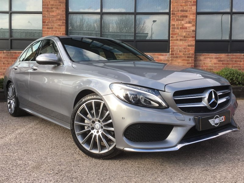 used Mercedes C220 BLUETEC AMG LINE in leicester