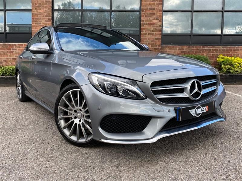 used Mercedes C220 BLUETEC AMG LINE PREMIUM in leicester