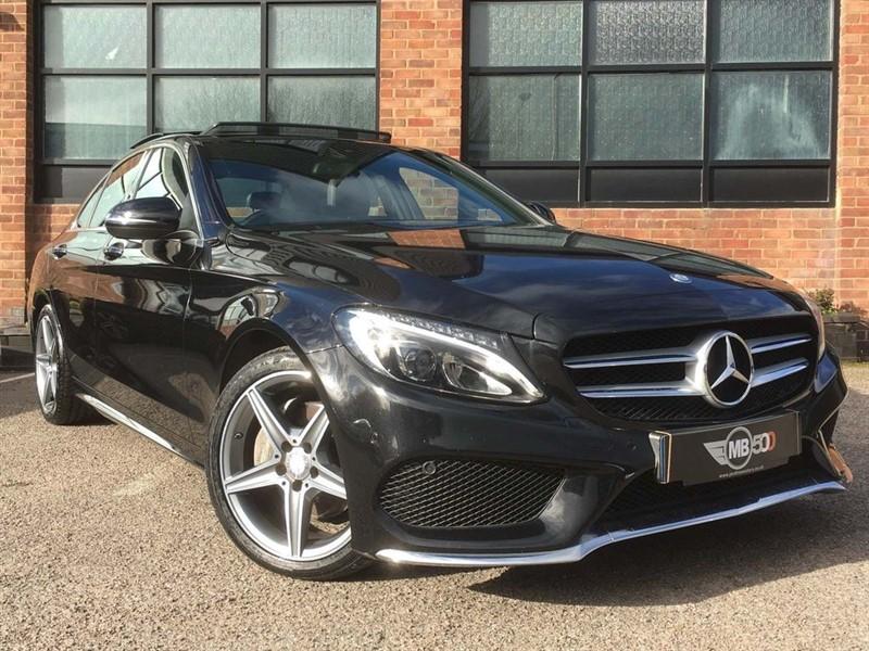 used Mercedes C220 BLUETEC AMG LINE PREMIUM PLUS in leicester