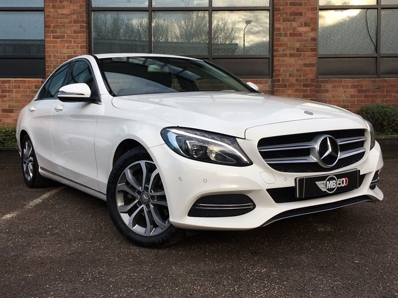 used Mercedes C220 BLUETEC SPORT in leicester
