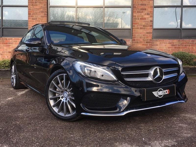 used Mercedes C250 D AMG LINE PREMIUM PLUS in leicester