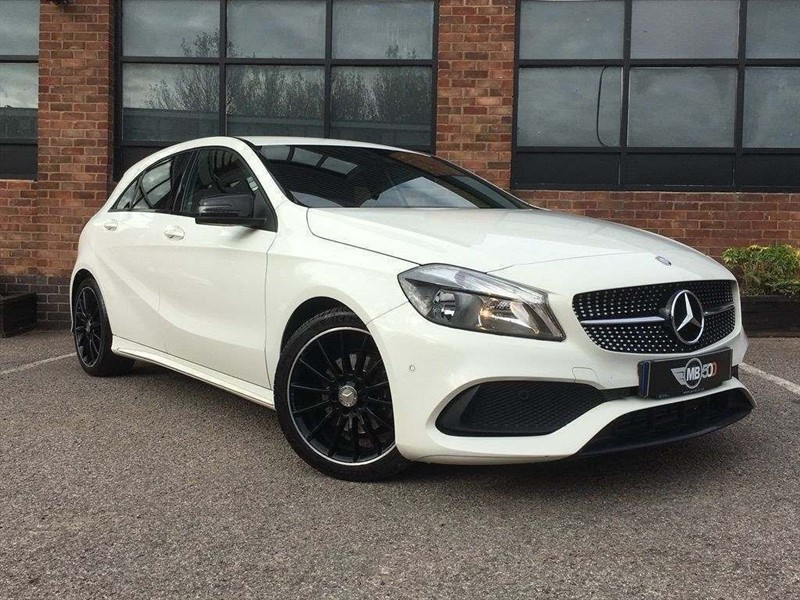 used Mercedes  A-CLASS A 200 D AMG LINE EXECUTIVE in leicester