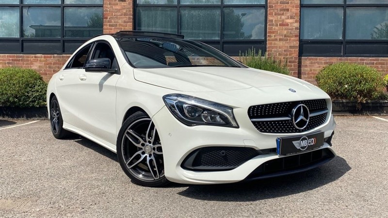 used Mercedes CLA180 CLA 180 AMG LINE in leicester