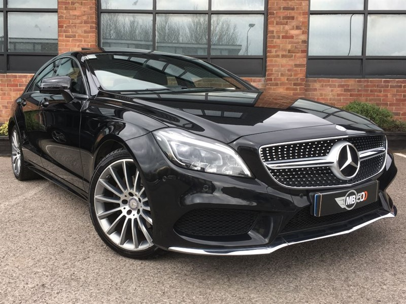 used Mercedes CLS CLS220 D AMG LINE PREMIUM in leicester